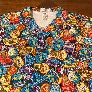 Men's WDW Parks button up shirt